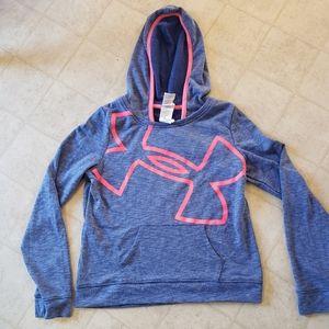 Underarmour girls hoodie size xl
